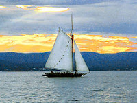 Sloop Clearwater by Anthony Pepitone