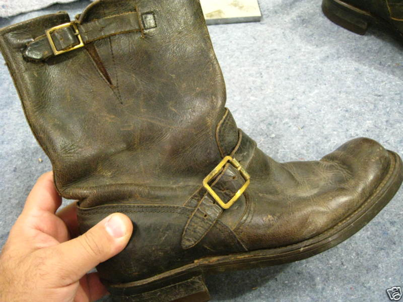 Vintage Biker Boots For Sale | CFA Vauban du Bâtiment