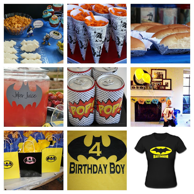 batman birthday party inspiration