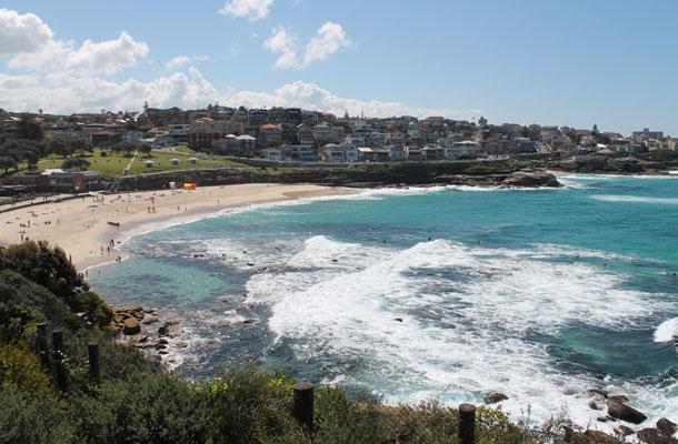 Coogee to Bondi coastal walk, Sydney, Australia