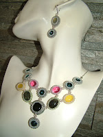 Gemstone Colors - Beaded Bezel Rivoli & Gemstone Cabs