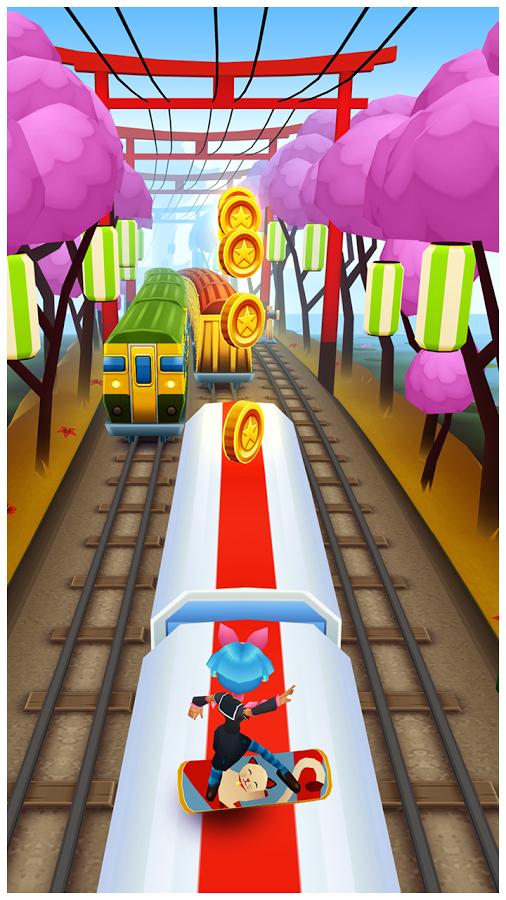تحميل لعبة سب واي الجديده 2014 Subway Surfers للاندرويد