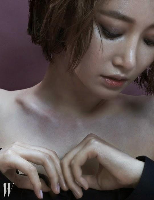 Go Joon Hee - W Magazine November Issue 2014