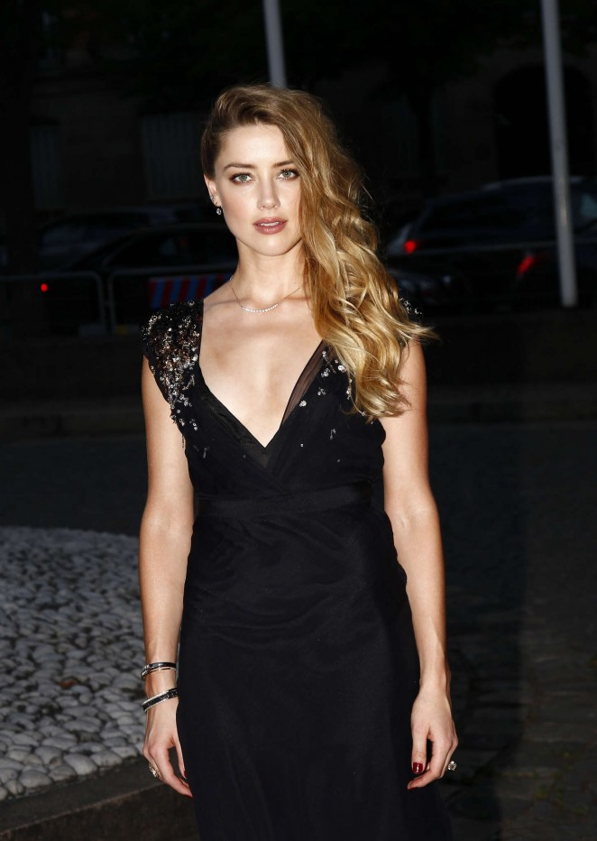 Amber Heard – Miu Miu Fragrance and Croisiere 2016 Collection Launch in Paris