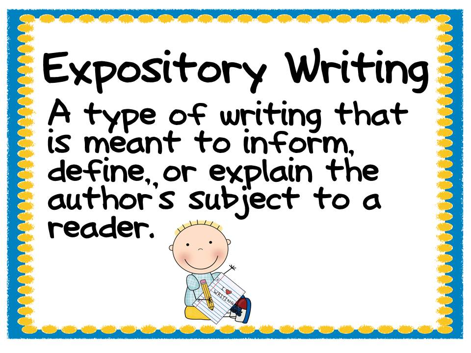 Expository writing books