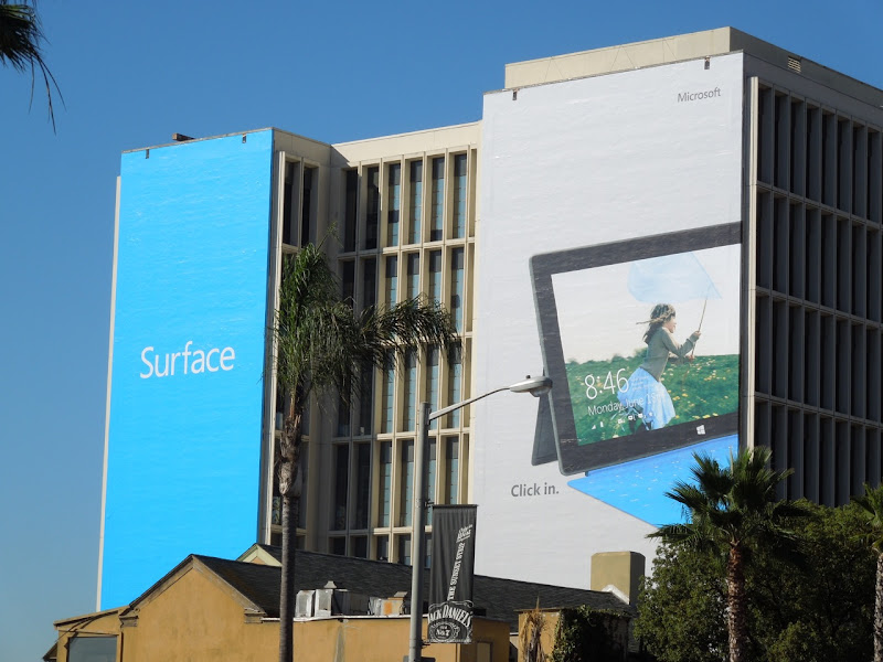 Giant Surface billboard