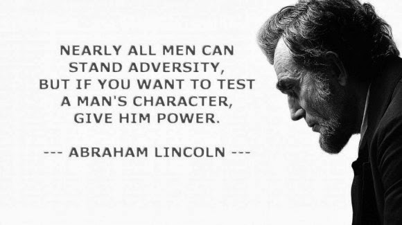 Abraham Lincoln Quote On Power