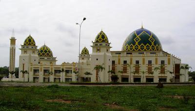 masjid arrahman islmic center sukadana