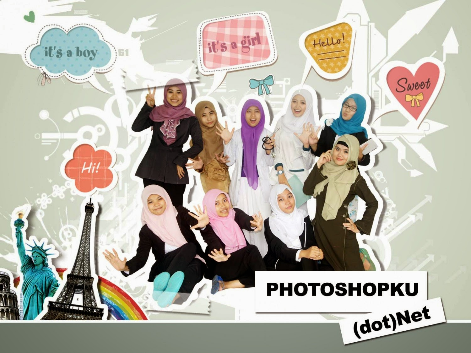 Membuat wallpaper dengan adobe photoshop