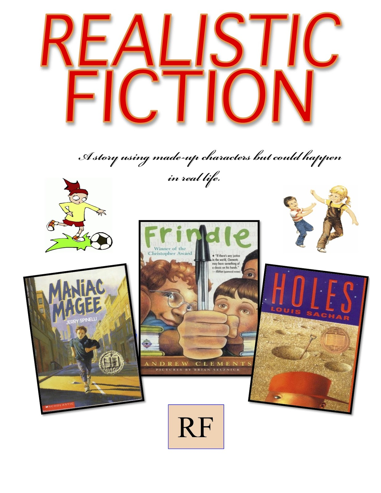 Mr. Goff's Class Blog: Genre series: Realistic Fiction