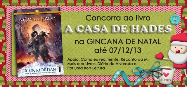 Promoção Livro A Casa de Hades Rick Riordan