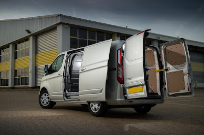 Van with accessible load area