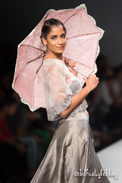 Chhaya Mehrotra Bubbly in Paris SS16 AIFW