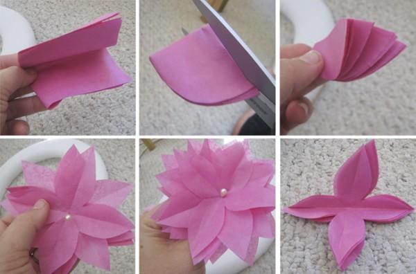 Jom buat bunga daripada kertas..