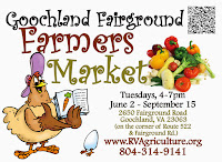Goochland Fairground Farmers Market opens June 2nd, 2015