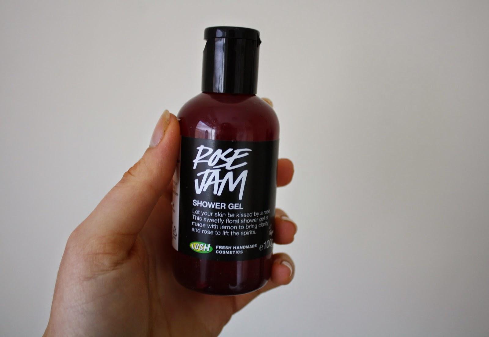 Graceyblossom Lush Rose Jam Shower Gel