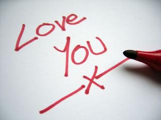 Love you con marcador
