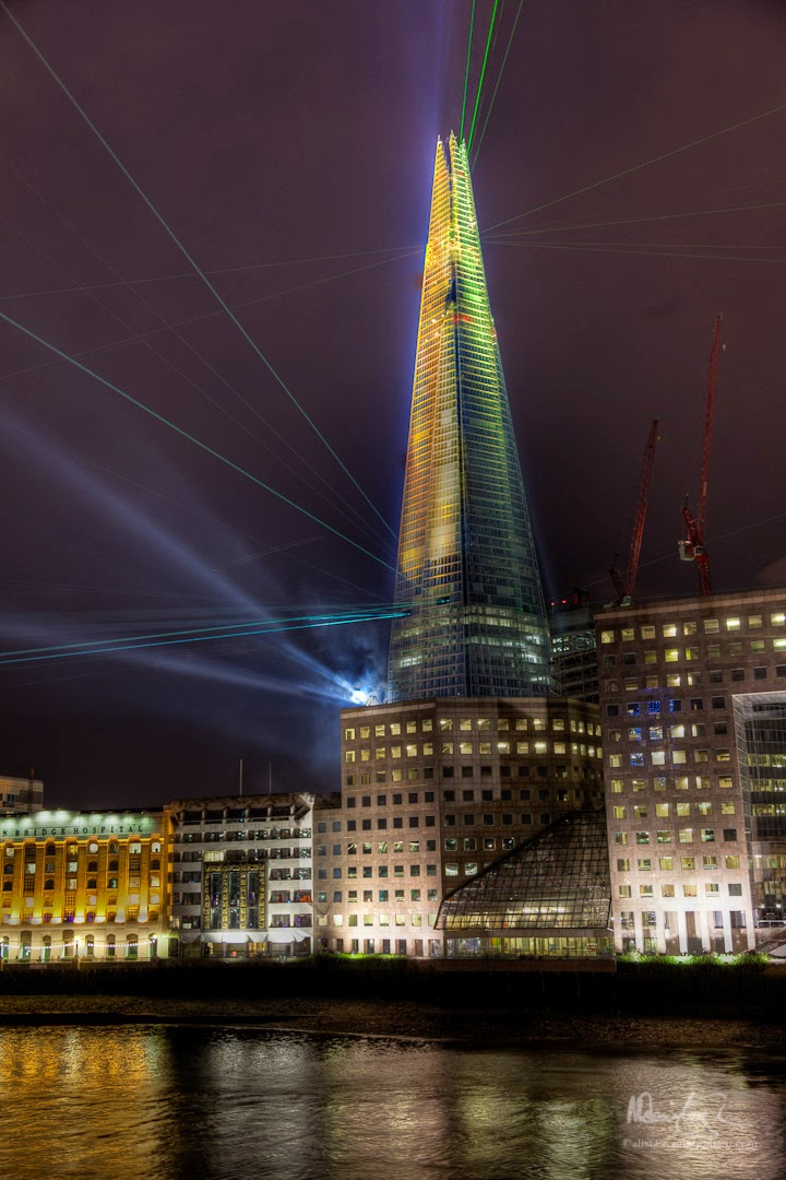 Alistair Cunningham, fotografía HDR, The Shard London Bridge