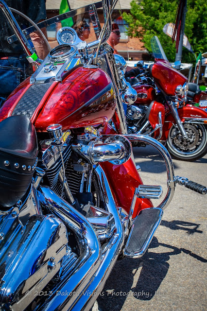 Images from Sturgis Motorcycle Rally 2013: Part I Custom Harley Davidson Paint Chrome
