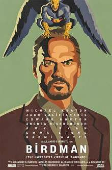 Birdman (2015) English Movie Poster