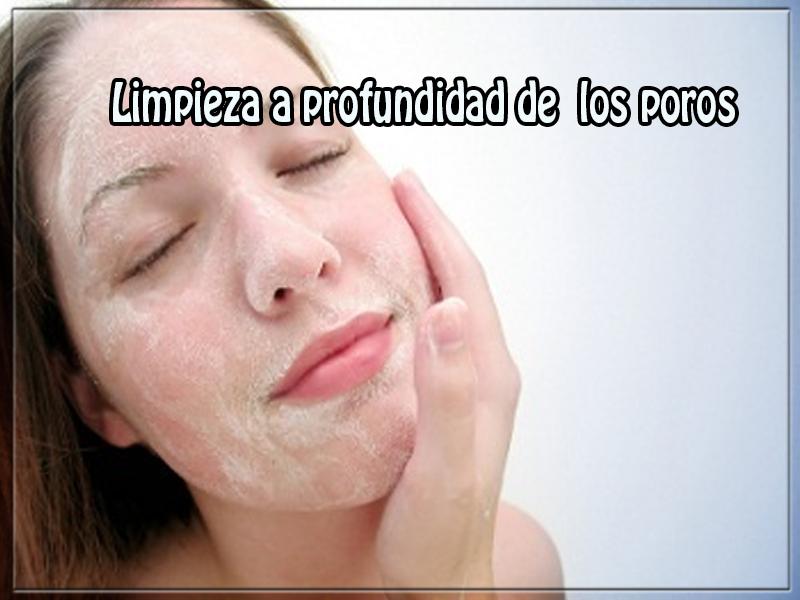 Cuidados del rostro, belleza, limpieza a profundidad de los poros