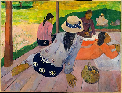 Paul Gauguin - La sieste,ca.1892-94