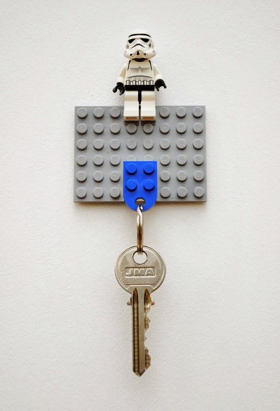 Schlüsselbrett aus LEGO