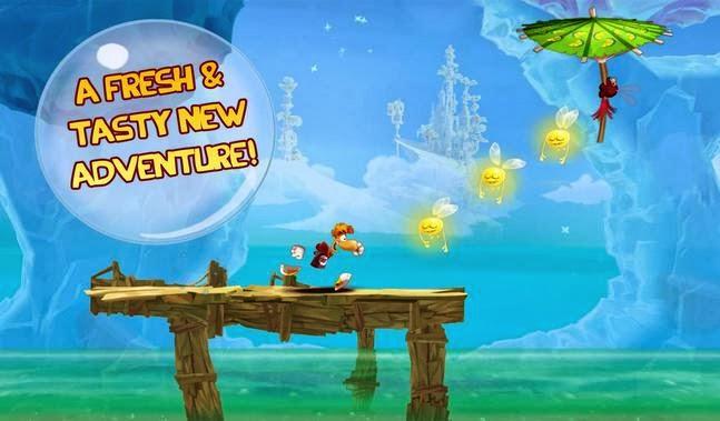 Rayman Fiesta Run android apk - Screenshoot