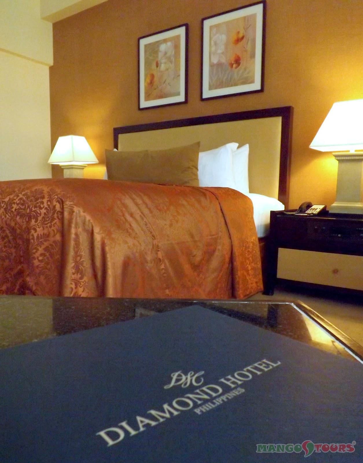 Mango Tours Diamond Hotel Philippines Room Accommodation