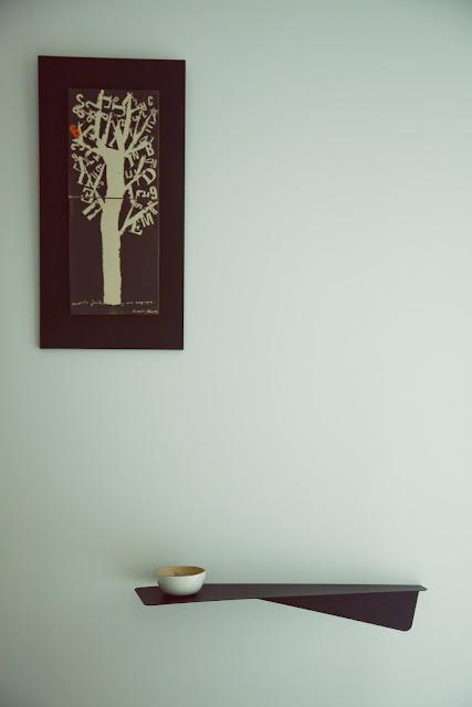 Proyecto interiorismo en Valencia. Detalle srecibidor