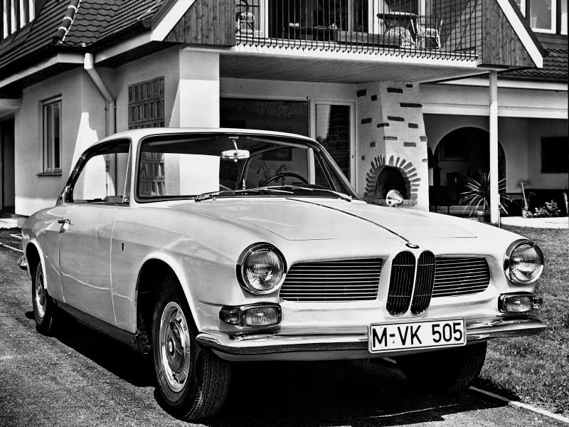Autos Classiques: BMW 3200 CS