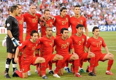 Portugal Squad Team 2012