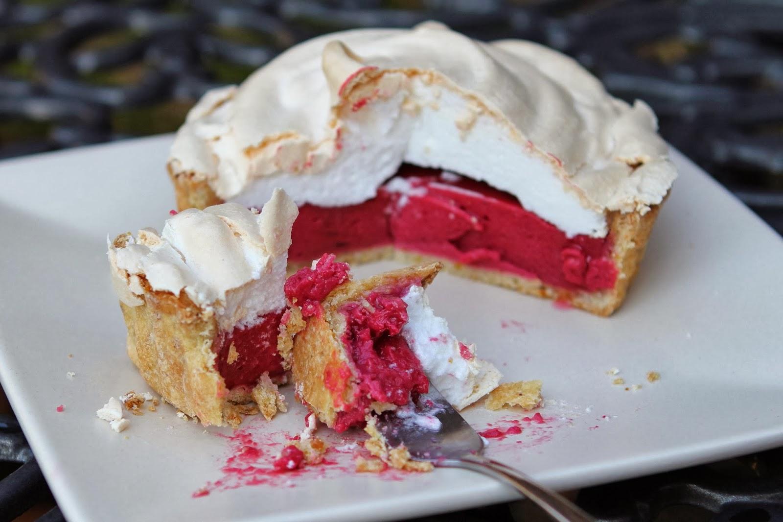... Free Alchemist: Raspberry Meringue Pie with Lime & Pistachio Pastry