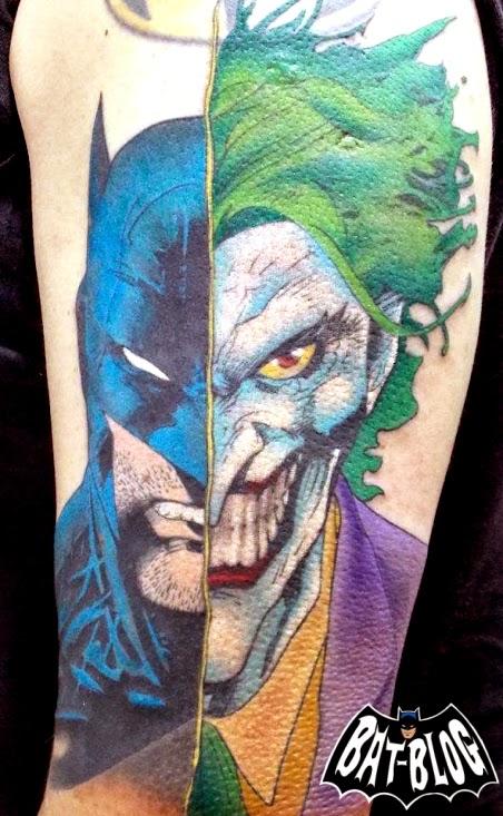 Bat blog batman toys and collectibles november 2014 for Joker batman tattoo