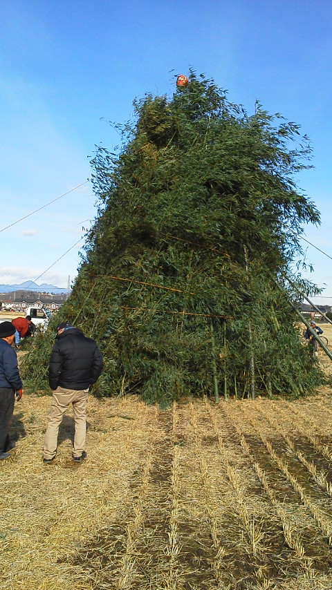堀越モータース堀越由伸の公式ブログ。: 松小屋作り