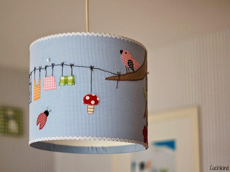 Cuchikind diy blog basteln und n hen f r kinder babyzimmer diy 2 lampenschirm - Diy babyzimmer ...