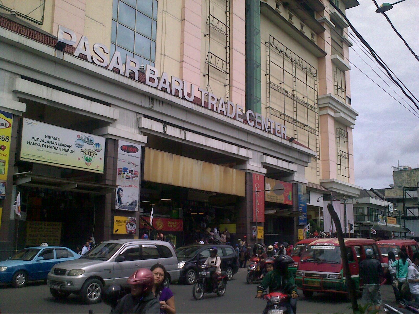 Sejauh Kaki Melangkah Pasar Baru Bandung