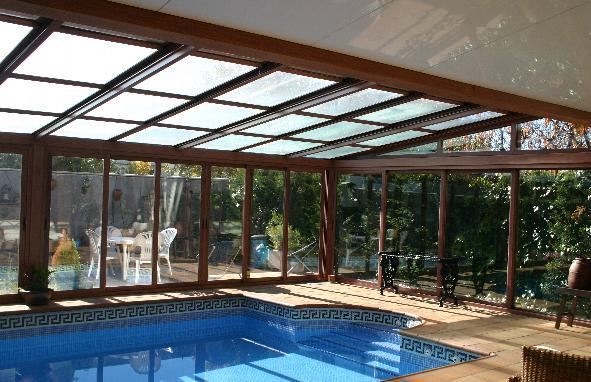 Fotos de cubiertas para piscinas cosmoval 644 34 87 47 for Techos para albercas