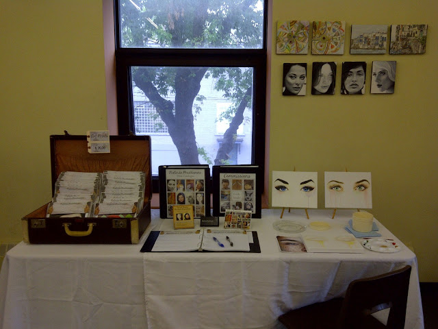 gifts of my hands, malinda prudhomme, artist, sorauren park fieldhouse, toronto artist, portrait artist, makers marker, parkdale artist