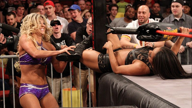 Top 10 TNA Knockouts Matches 2015