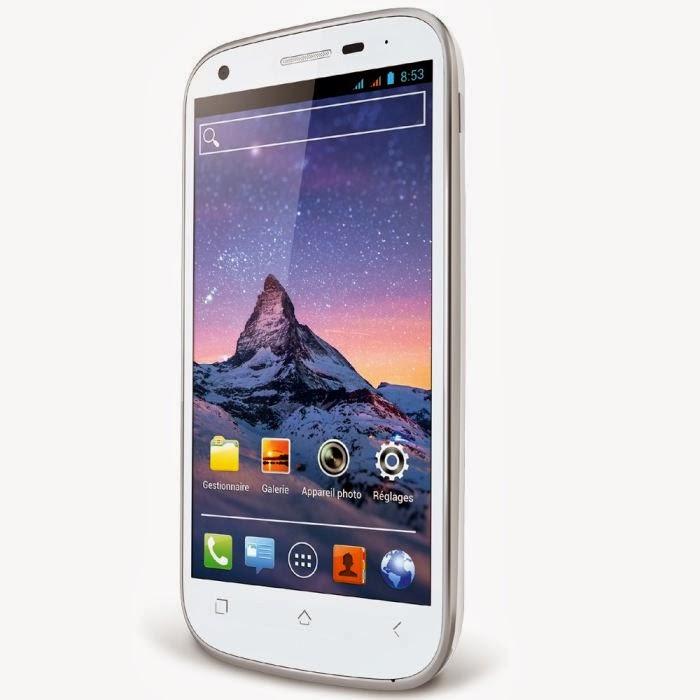Cink Peax Wiko Blanc Smartphone