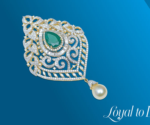 Exquisite Diamond Jhumkas by JCS