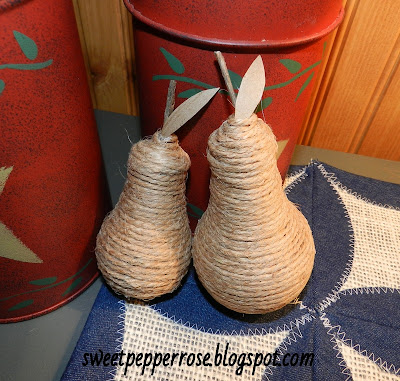 jute pear lightbulb  s