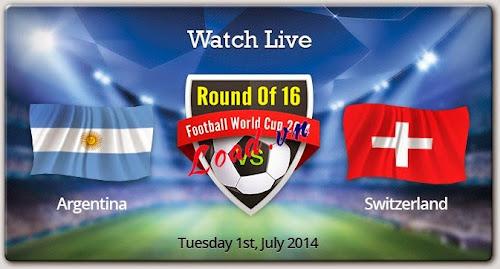 Argentina , Switzerland , Round 16