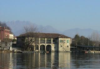 Casa dei pescatori a Pusiano