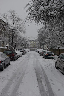 Snow in Vassall Ward