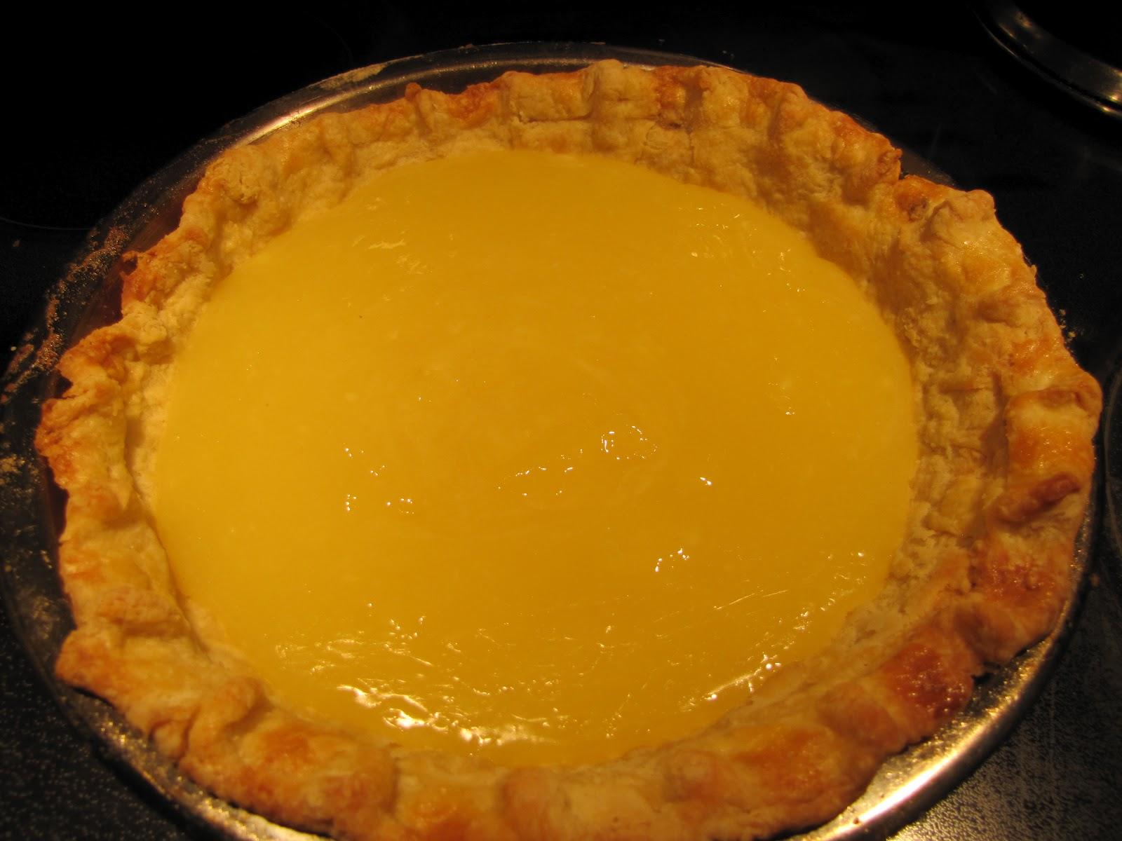 Flu Busting Organic Lemon Pie No Sugar