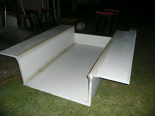Floor Box For A Slide In Truck Camper This One Is Made From Fiberglass Customtruckcamperblogspot
