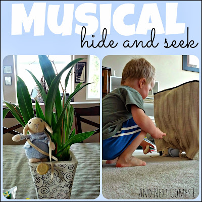 A musical twist on hide and seek from And Next Comes L