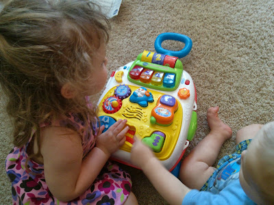 VTech Roll & Learn Activity Suitcase Review & Giveaway